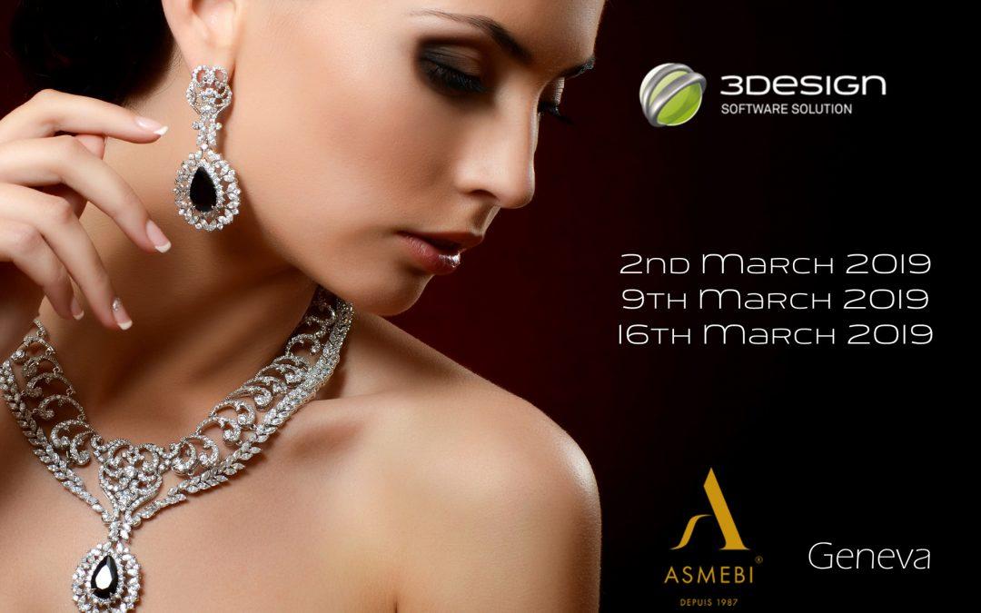 Swiss 3D jewellery training by ASMEBI