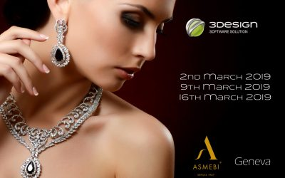 Swiss 3D jewellery training by ASMEBI